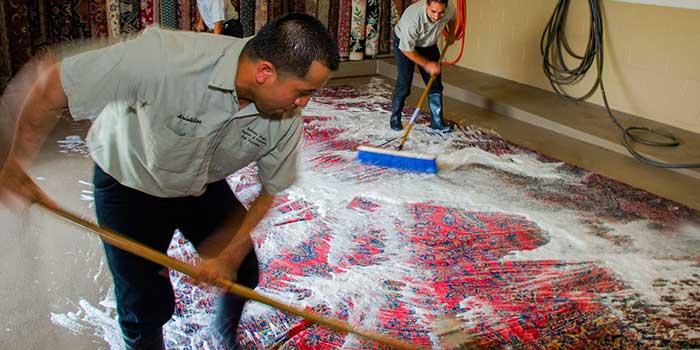 قالیشویی در سیدی مشهد