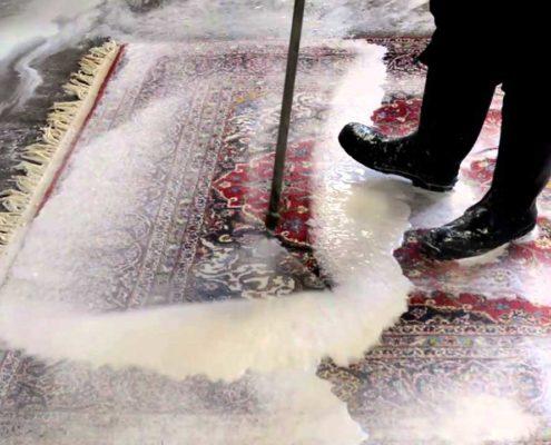 شستشوی فرش دستبافت